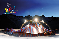 Fredy Schär am Humorfestival in Arosa